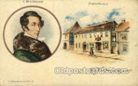 opr001025 - C.M.V. Weber, T.Presser CO., Phil'a Opera Postcard Postcards