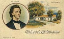 opr001029 - Fr. Chopin, Birth place, Wola, Poland Opera Postcard Postcards