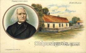 opr001044 - Franz von liszt, Raiding, Hungary Opera Postcard Postcards