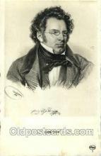 opr001055 - Frany Schulert Opera Postcard Postcards