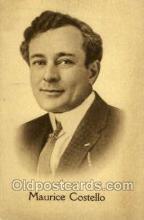 opr001073 - Maurice Costello Opera Postcard Postcards