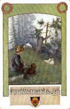 opr001092 - Artist L.Uhland Opera Postcard Postcards