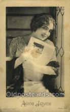 opr001096 - Alice Joyce Opera Postcard Postcards