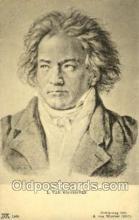 opr001098 - L.Van Beethoven Opera Postcard Postcards