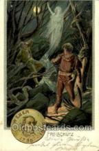 opr001117 - Freischutz Opera Postcard Postcards