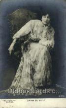opr001132 - Drina De Wolf Opera Postcard Postcards