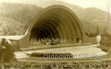opr001147 - Hollywood Bowl, California USA Opera Postcard Postcards