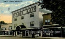 opr001150 - Leavitt Theatre, Sanford, Me. USA Opera Postcard Postcards