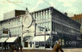 opr001151 - Peli's Theatre, Springfield, Massachuetts, Mass, USA Opera Postcard Postcards