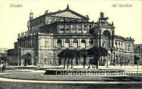 opr001173 - Dresden, Hgl. Opernhaus Opera Postcard Postcards