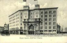 opr001186 - Castle Square Hotel and Theatre Opera Postcard Postcards