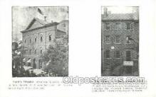 opr001192 - Ford's Theatre, The house in which Lincoin died  Opera Postcard Postcards