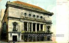 opr001197 - Illinois Theatre, Chicago, USA Opera Postcard Postcards