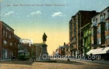 opr001198 - Doyle Mounment and Imperial Theatre, Providence, R.I. Rhode Island, USA Opera Postcard Postcards