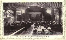 opr001209 - The Rustic Theatre, Canobie Lake Park, New Hampshire, USA Opera Postcard Postcards