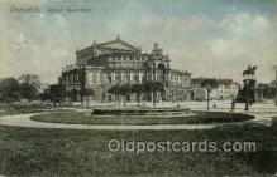 opr001210 - Dresden Opera Postcard Postcards