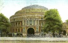 opr001215 - The Albert Hall, London Opera Postcard Postcards