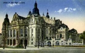 opr001216 - Koln a. Rh. Opernhaus Opera Postcard Postcards