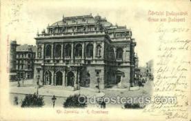 opr001218 - Kir. Operahaz Opera Postcard Postcards
