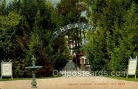 opr001235 - Conobie Lake Park Opera Postcard Postcards