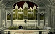 opr001237 - Kotzschmar Memorial Organ, City Hall Portland, Me, Maine Opera Postcard Postcards
