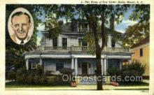 opr001246 - Home of Kay Kyser, Rocky Mount, NC, North Carolina, USA Opera Postcard Postcards