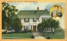 opr001254 - Home of the Nelsons Opera Postcard Postcards