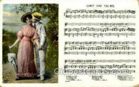 opr001263 - Comin' Thro' The Rye Opera Postcard Postcards