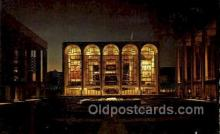 opr001271 - The Metropolitant Opera House, Lincoln Center Opera Postcard Postcards