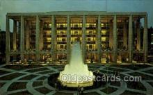 opr001272 - Lincoln Center, Philharmonic Hall Opera Postcard Postcards