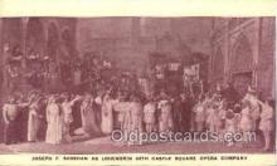 opr001274 - Joseph F. Sheehan Opera Postcard Postcards