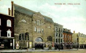 Bangor, Opera house