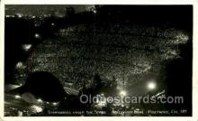 opr001277 - Symphony under the stars, Hollywood, California, USA Opera Postcard Postcards
