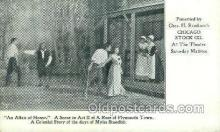 opr001286 - Chicago Stock Co, An Affair of Honor Opera Postcard Postcards