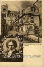 opr001292 - Beethoven Opera Postcard Postcards