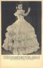 opr001351 - Licia Albanese as Violetta in La Traviata Opera Postcard Post Card Old Vintage Antique