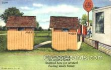 out001022 - outhouse outhouses postcard postcards