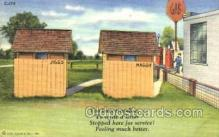 out001028 - outhouse outhouses postcard postcards