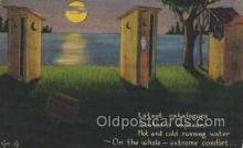 out001124 - Outhouse, OutHouses, Postcard Postcards