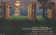 out001138 - Outhouse Outhouses Postcard Postcards