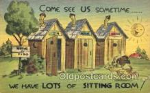 out001144 - Outhouse Outhouses Postcard Postcards