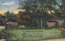 out001146 - Outhouse Outhouses Postcard Postcards