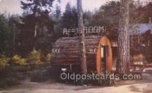 out001148 - Outhouse Outhouses Postcard Postcards