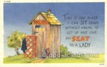 out001151 - Outhouse Outhouses Postcard Postcards