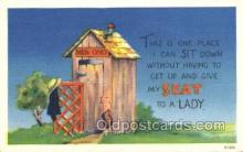 out001162 - Outhouse Outhouses Postcard Postcards