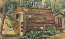 out001165 - Outhouse Outhouses Postcard Postcards