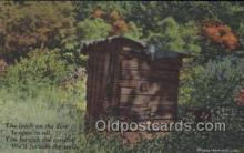 out001167 - Outhouse Outhouses Postcard Postcards