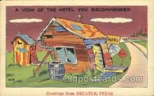 out001193 - Decatur, Texas, Usa Out House, Out Houses, Outhouse, Outhouses Postcard Postcards