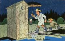 out001199 - Artist Don Bloobgoob Out House, Out Houses, Outhouse, Outhouses Postcard Postcards