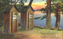 out001248 - Out House, Out Houses, Outhouse, Outhouses Postcard Postcards